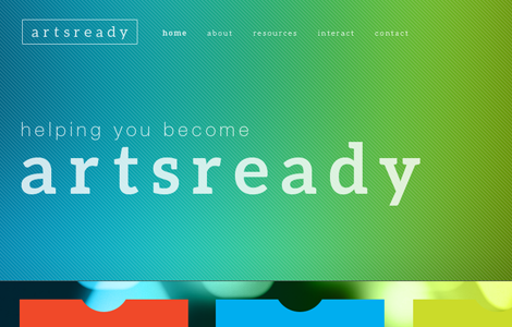 Artsready Website